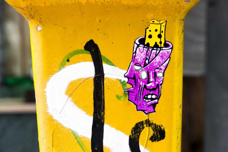 cheezy street art toulouse